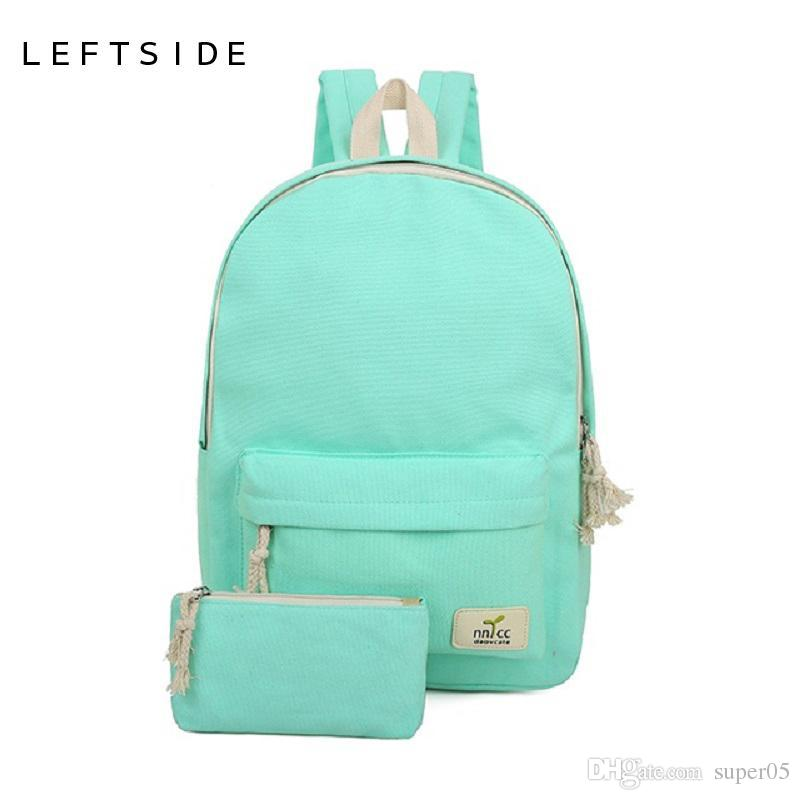 Women Backpack Canvas Feminine Backpacks For High School Girls High Quality Cute  Rucksack Female School Bags For Teenagers 2018 Ladies Handbags Book Bags ... 2f484c277b236