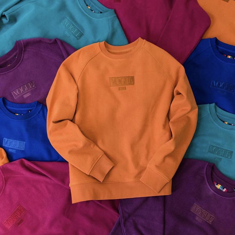 Vogue Trui Kopen.2019 Kith X Vogue Streetwear Sweatshirts Cotton Fashion Hoodies Men