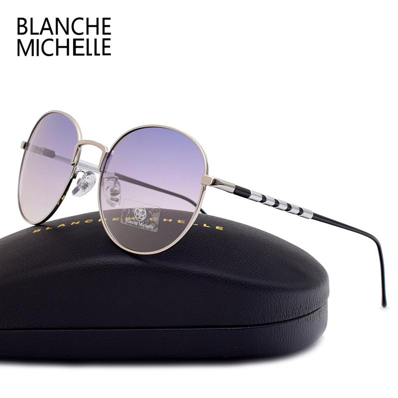 23280173e9 Blanche Michelle High Quality Pilot Polarized Sunglasses Men Women UV400  Aluminum Sun Glasses Brand Designer Sunglass With Box D18102305 Custom  Sunglasses ...