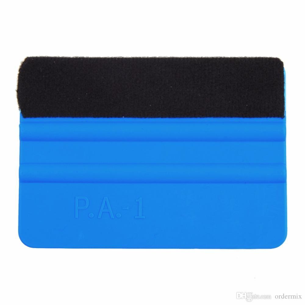 دائم يده حافة يشعر رودو الفينيل تطبيق أداة لينة سيارة التفاف مكشطة كشط ساحة الأزرق مائي