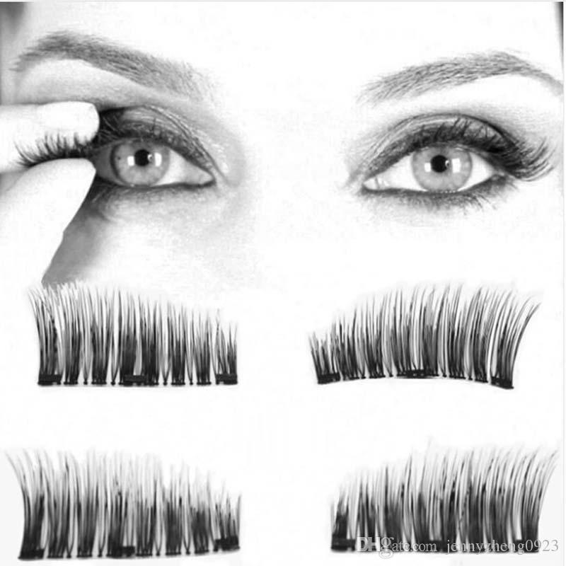 Eyelashes On The Magnet Lashes Extension Kit 3d Long Easy To Wear