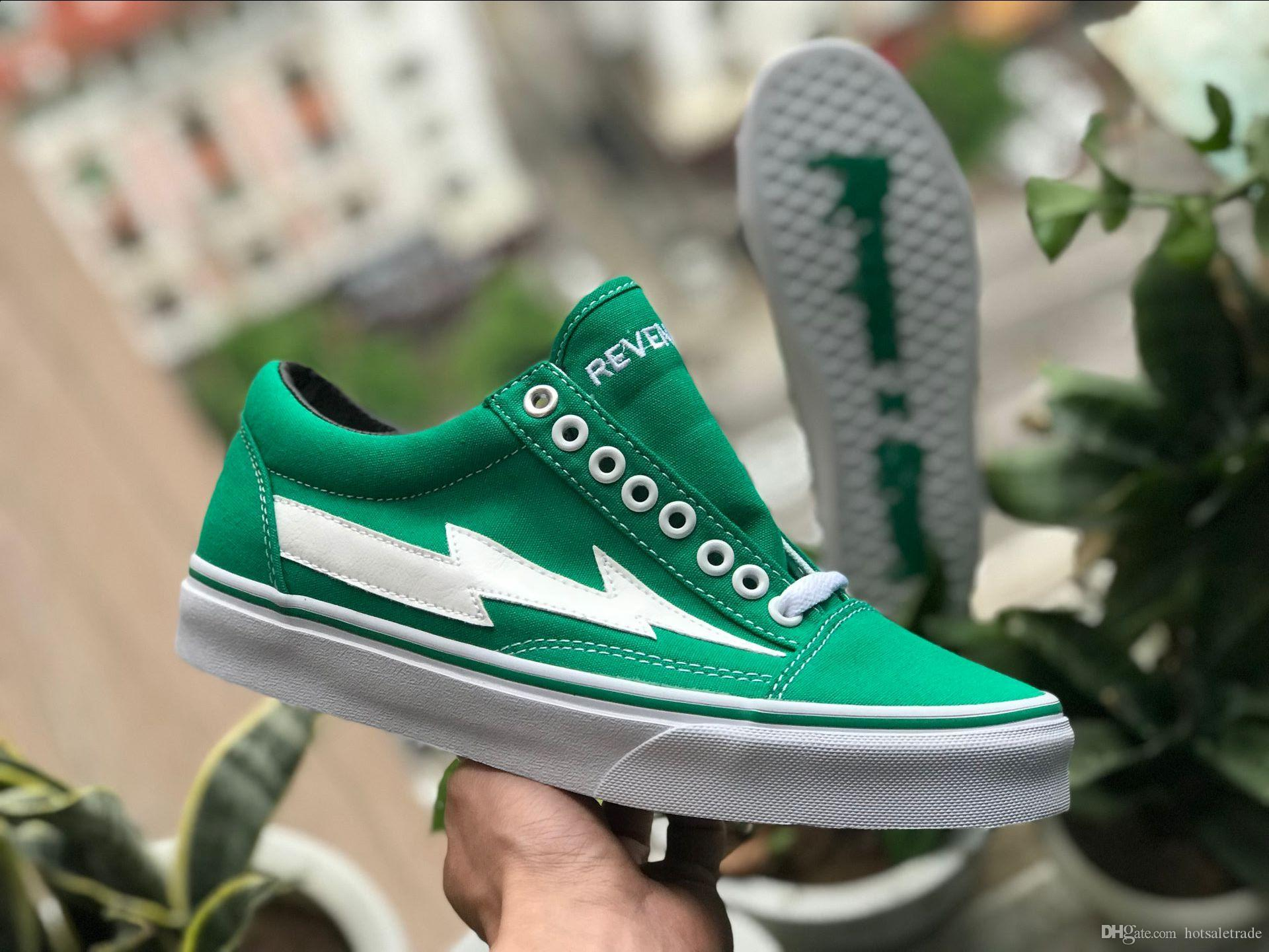 ... Calabasas Stylist Ian Connors Revenge X Storm Green Sneakers Kanye West  Calabasas Casual Shoe Men Women ... 3e74c5a8c6