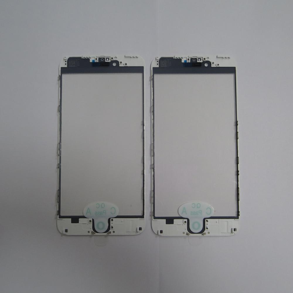 Jiutu Original LCD Tela de Toque Frontal Lente Outer com moldura de vidro OCA para iphone 6 s 6 s plus 6/6 além de substituição do painel de toque