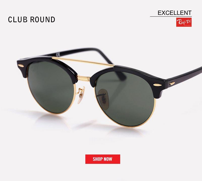 Compre 2018 Venta Caliente HD Uv400 Lente Rosa Moda Mujer Gafas De Sol  Retro Clubround Marca Hombres Gafas De Sol Gafas De Conducción De Sol Lente  Maestra A ... cebbe6bd8c