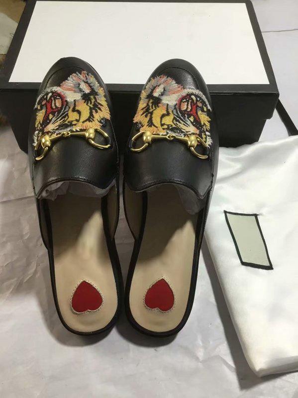 5da52676325 Princetown Embroidered Hawaiian Print Satin Women S Slippers Mules ...