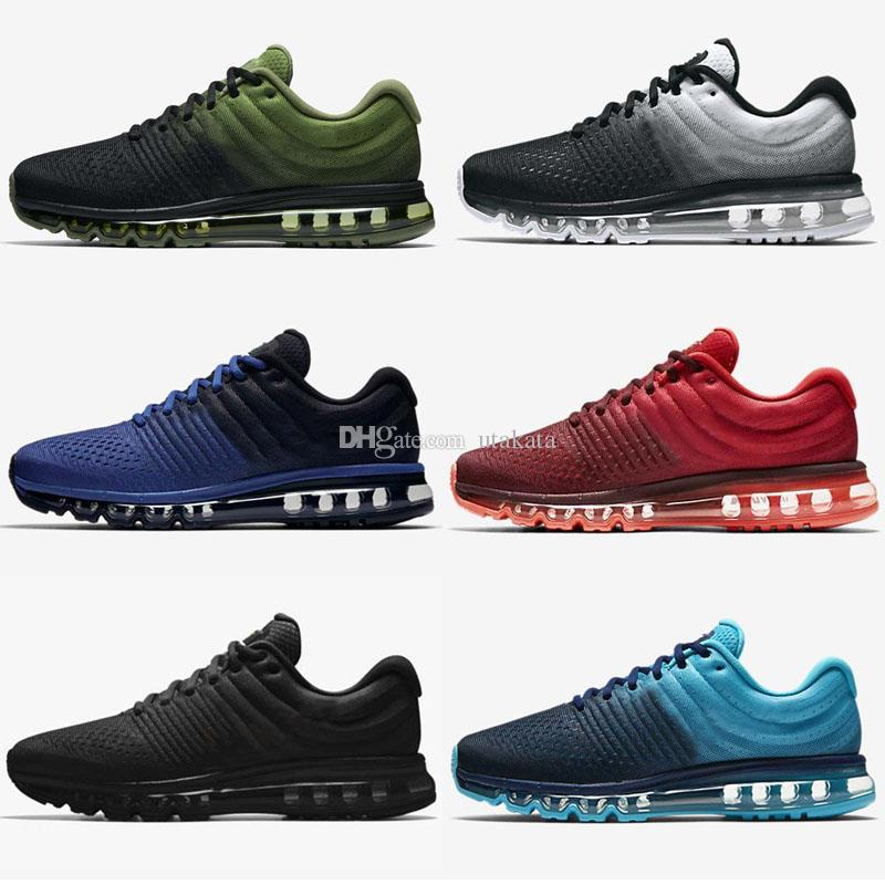 geniue stockist cheap price outlet original wholesale maxs 2017 Men running shoes Hot selling Original quality maxes 2017 cushion sneaker for mens Newest release sneaker 36-45 qqbvsIFxf