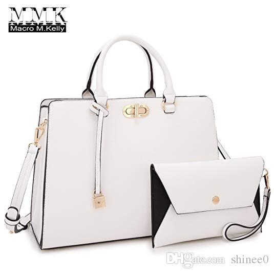 71af04a54fe585 MMK collection Fashion Women Purses and Handbags Ladies Designer Satchel  Handbag Tote Bag Shoulder Bags with coin purse
