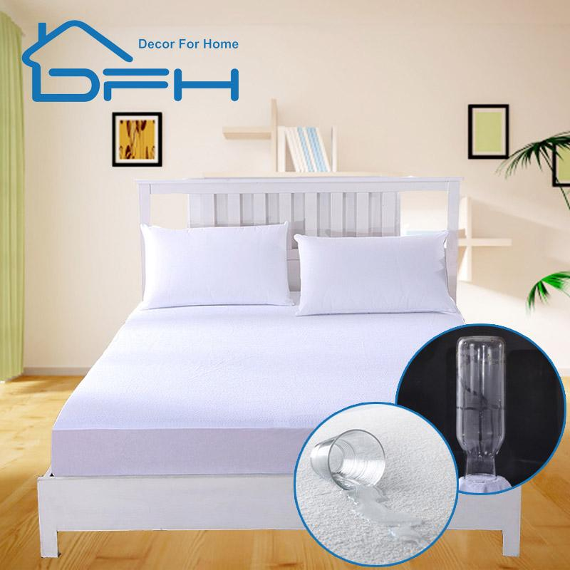 2018 160X200 Cotton Terry Matress Cover 100% Waterproof Mattress Protector  Bed Bug Proof Dust Mite Mattress Pad Cover For From Bdgarden, $25.4 |  DHgate.Com