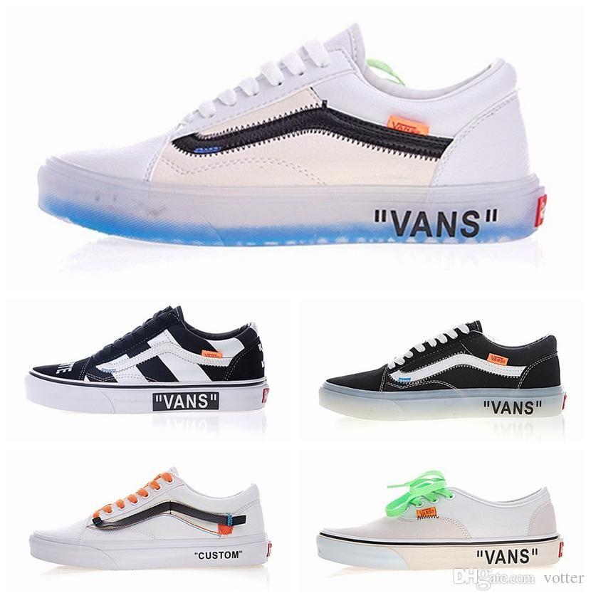 2018 The Wall Old Skool Running Shoes Off Zapatillas De Deporte ... 6656f5f89
