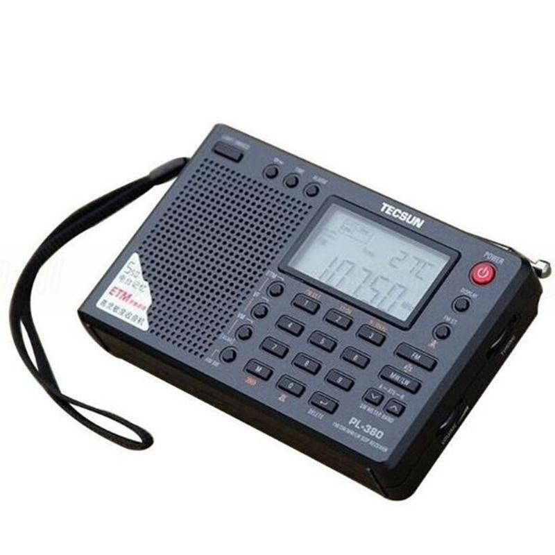 Tecsun PL-380 PL380 radio Digital PLL Portable Radio FM Stereo/LW/SW/MW DSP Receiver Nice Retail-wholesale Drop Shipping HotSale