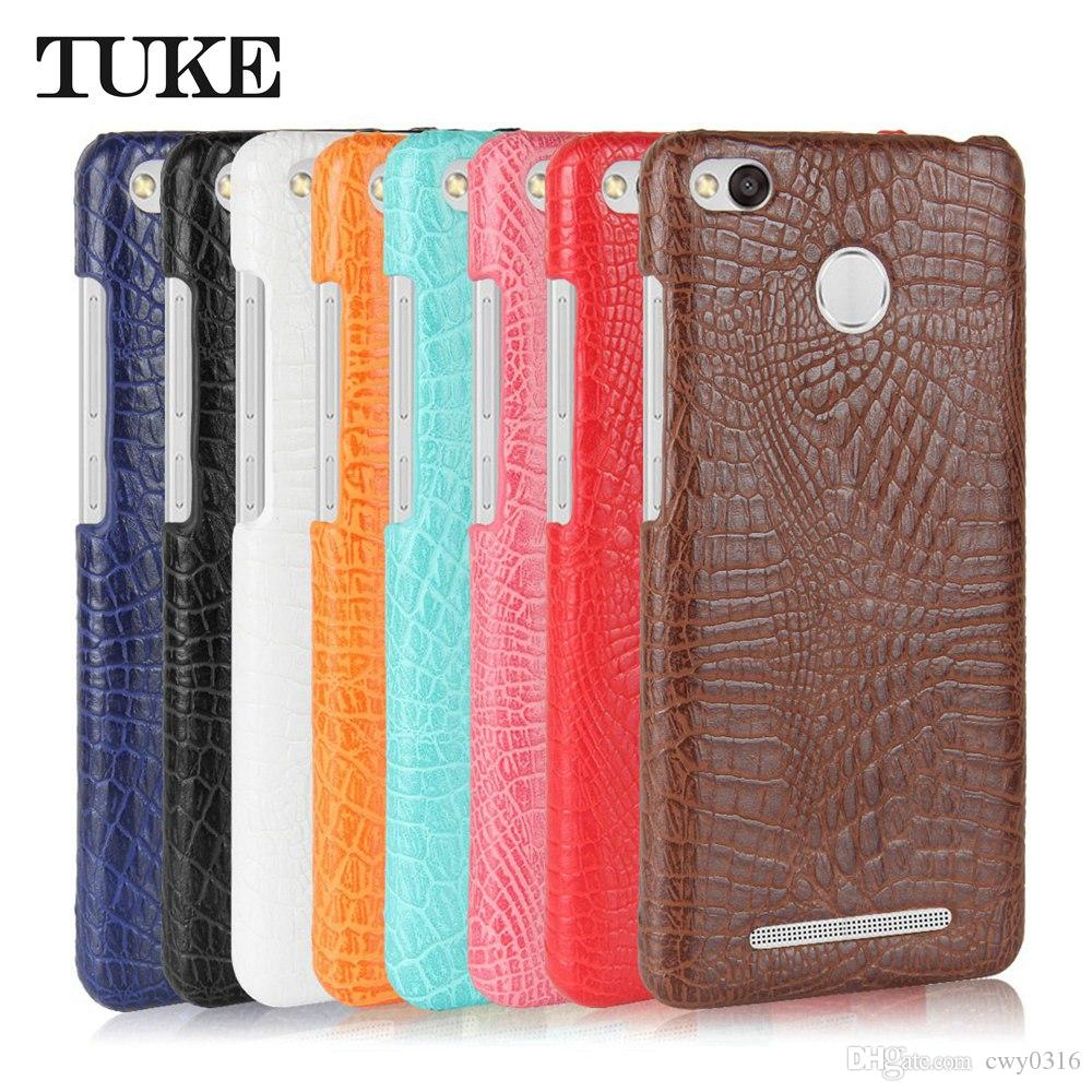 b1443566b08 Luxury Crocodile Pattern Leather Cases For Xiaomi Redmi Note 3 4 4x 5A 5  Pro Case For Redmi Pro 3X 3s 4A 5A 5 Plus 4X 4 Prime Hard PC Case Cell ...