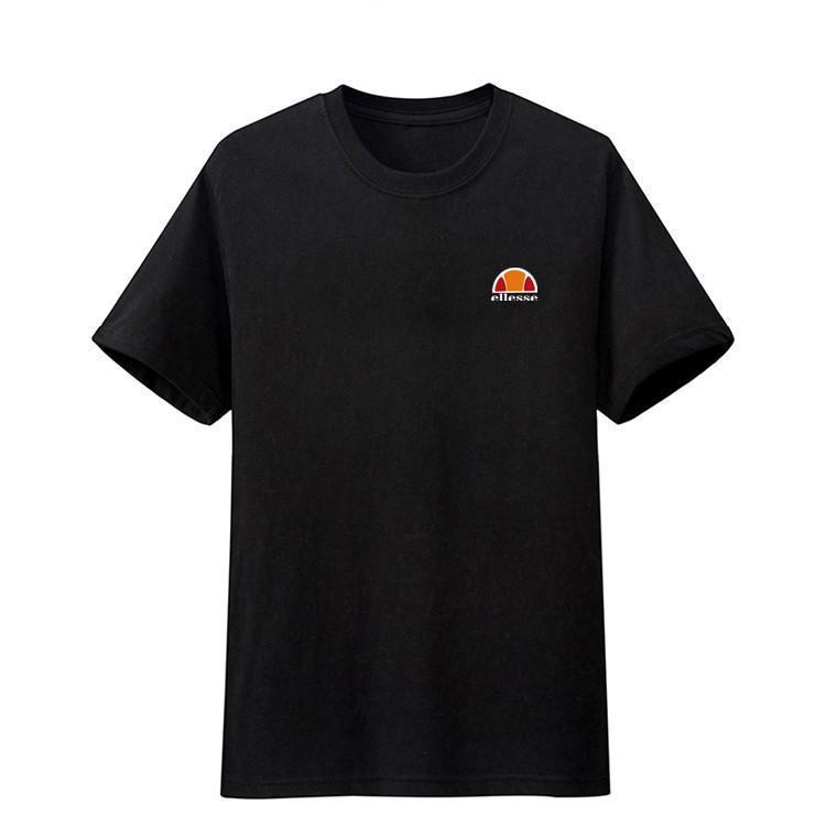 Moderno Hombre Tela Para Estilo De Elegante 2018 Naranja Estampado Letras Y Importado Camiseta QBsCrdxoht