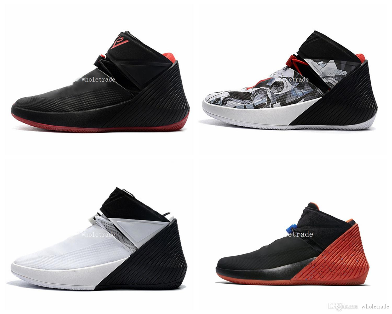 8f9824fe010 Russell Westbrook Why Not Mens Basketball Shoes Black Red Grey Orange  Sneaker Size 7 12 Come With Box East Bay Shoes Shoes Sports From  Wholetrade, ...