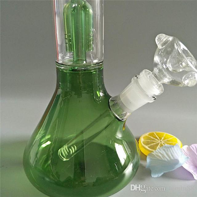 High-quality amazing functional glass hookah with 12.5 inches high G-305