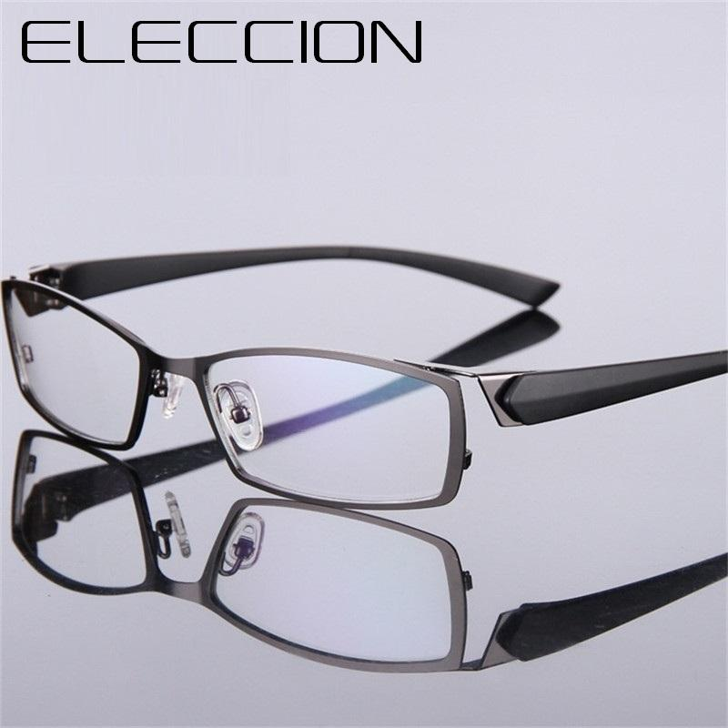 29d7b025f6 2019 ELECCION Brand Spectacle Frame Attractive Mens Distinctive Design  Brand Comfortable Eyeglasses Frame Square Sports Glasses From Kuchairly