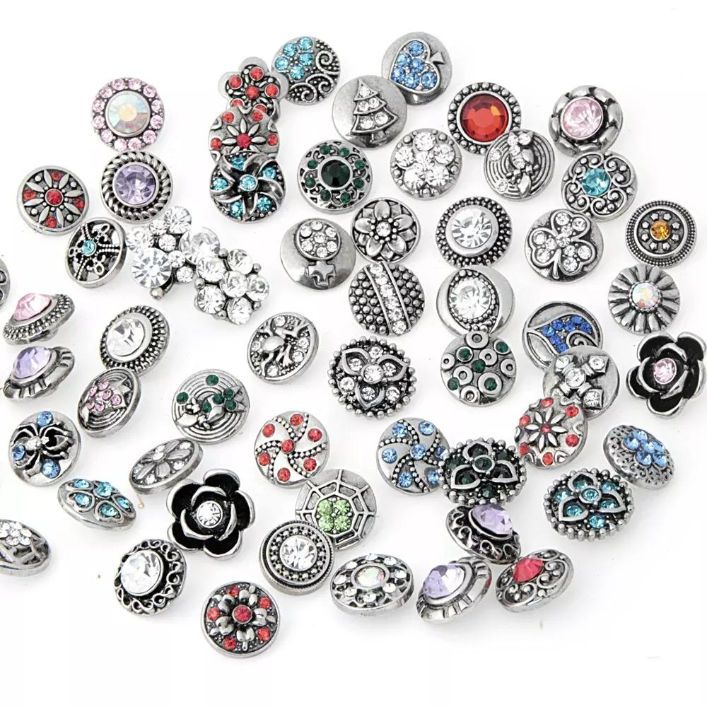 8ba7f05d9 Wholesale 2016 Hot New Style 12mm Rhinestone Snap Button Charm Jewelry For  Unisex Women And Men Snap Jewerly ZM021 Wholesale Charms For Bracelets  Charmed ...