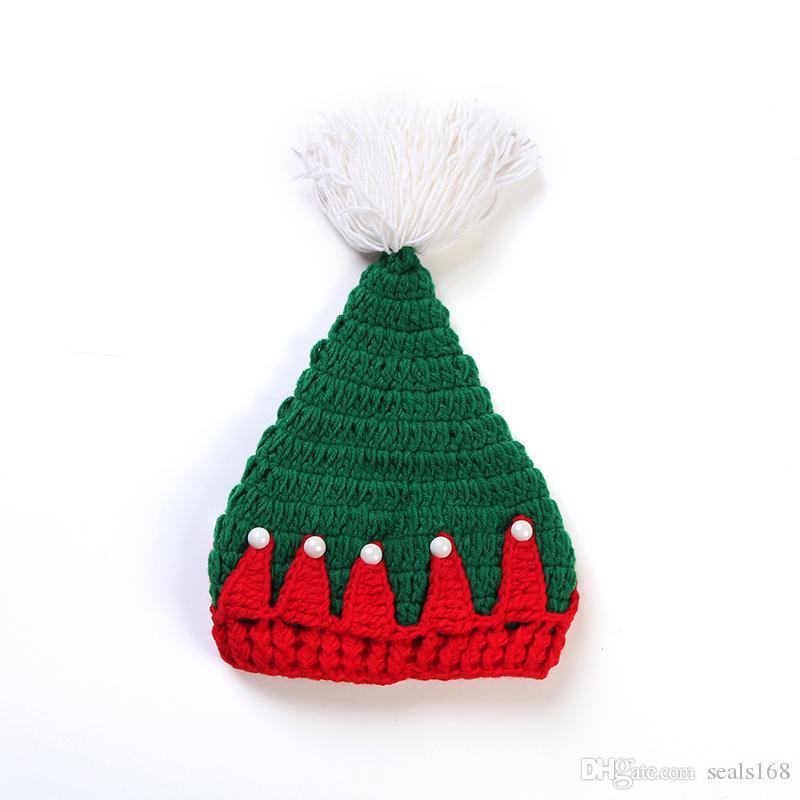 Compre Casquillo De La Navidad Gorro De Peluche De Felpa Suave De ...