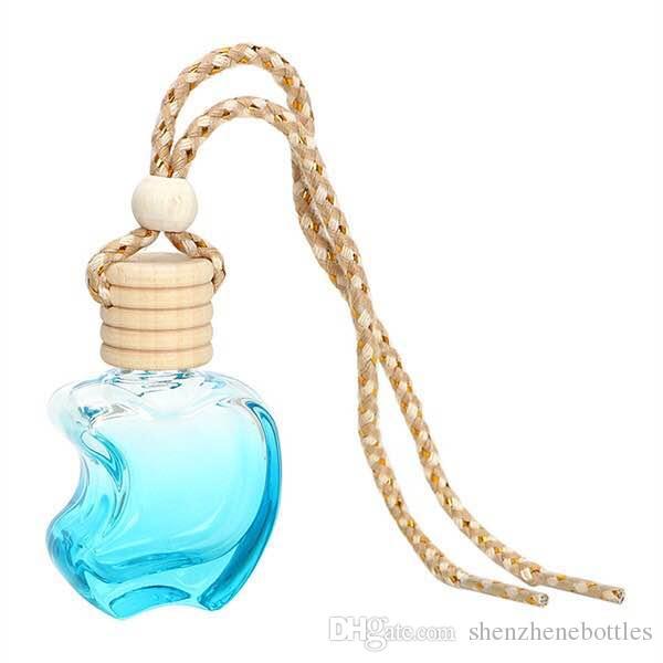 Neue Art und Weise / Glasminihänge Auto-Duftstoff-Flasche Dampf Autozubehör leere Flasche freies Verschiffen Flasche