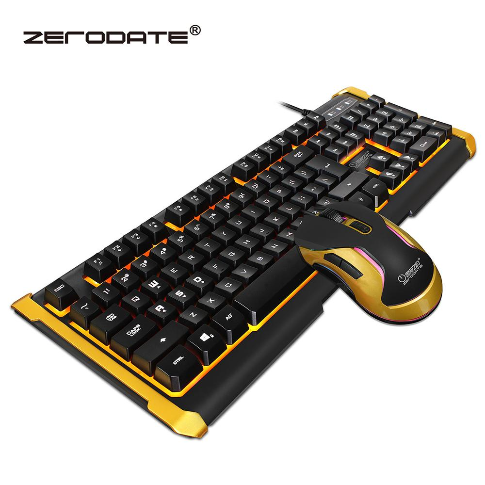 zerodate k12 wired gaming keyboard optical pro gamer mouse backlit illuminated multimedia. Black Bedroom Furniture Sets. Home Design Ideas