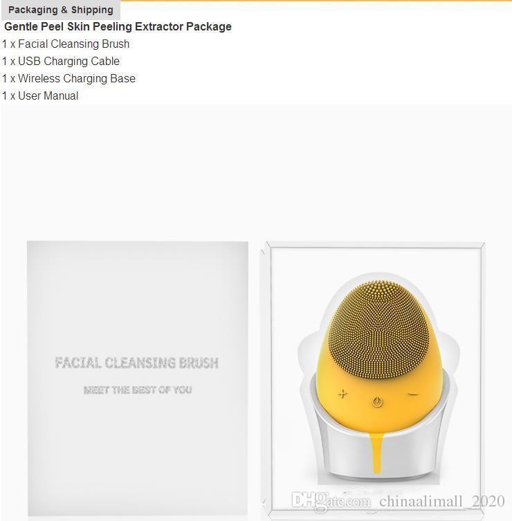 Compre 2019 Novo Purificador De Rosto Eletrico Peeling Suave Peeling