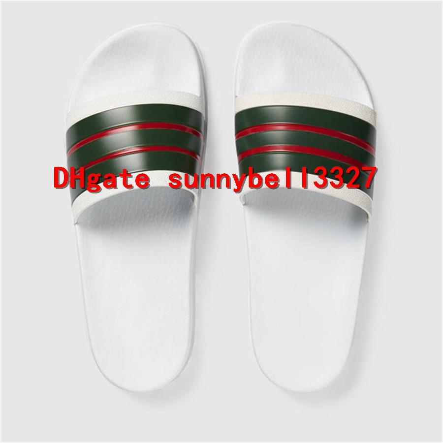 70fdcdf1743d Rubber Slide Sandal Men Slide Sandals Designer Shoes Luxury Slide ...