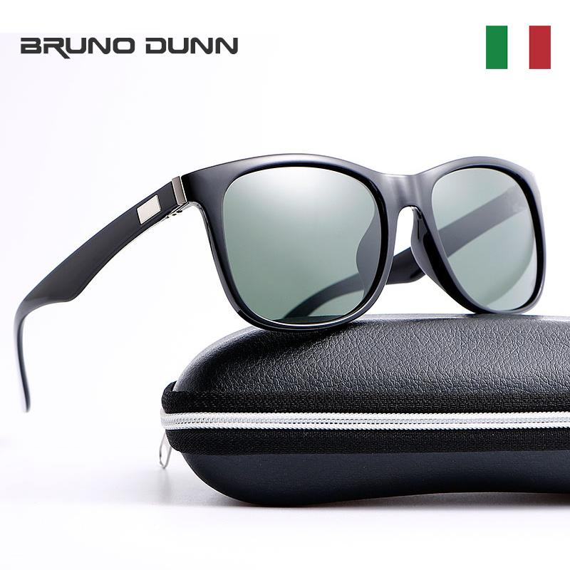 6cdf5e8d35 Bruno Dunn Brand Designer Polarized Sunglasses Men Driver Shades Male  Vintage Sun Glasses For Women Mirror Summer UV400 Ray Tifosi Sunglasses  Cheap ...