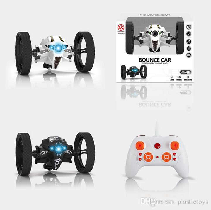 2.4G 8 channels Super Cool Jumping Sumo Robot Bounce Car Can Jump rc Toy Hot Sell rc racing car Surprise Wholesale-