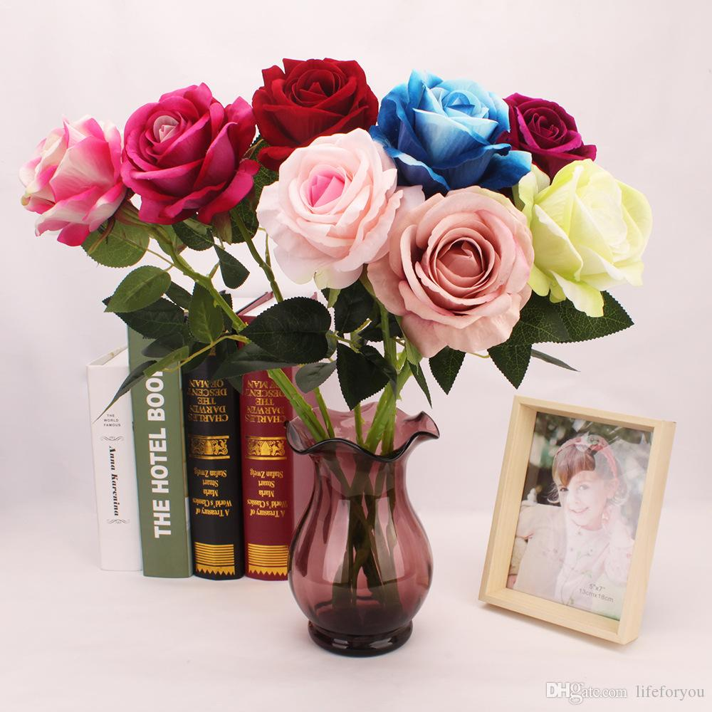 2018 silk flowers fake flowers rose artificial flowers for wedding 2018 silk flowers fake flowers rose artificial flowers for wedding party wedding bouquet rose dia 10cm 393inch from lifeforyou 094 dhgate izmirmasajfo