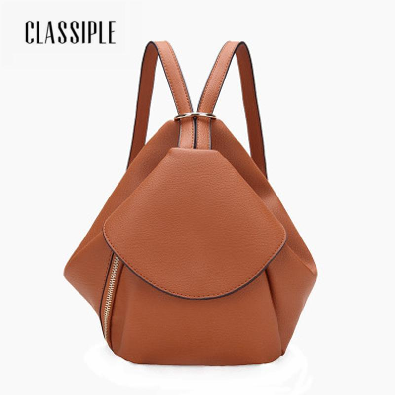 42dce91704 2018 Backpacks Shoulder Bags Casual Brown Retro Travel Fashion Genuine Leather  Backpack For Teenage Girl Backpack School Student Running Backpack Osprey  ...