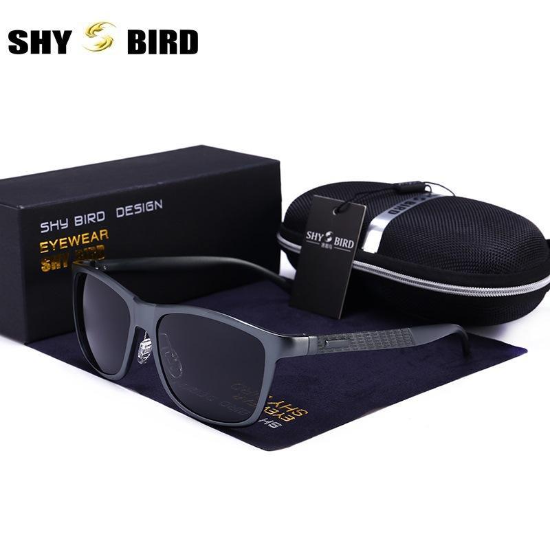 a2e8037971 Compre Gafas De Sol Polarizadas Para Hombre 2018 Nuevas Gafas De Sol Con  Montura De Magnesio De Aluminio Para Hombres Y Lentes De Espejo De  Recubrimiento De ...