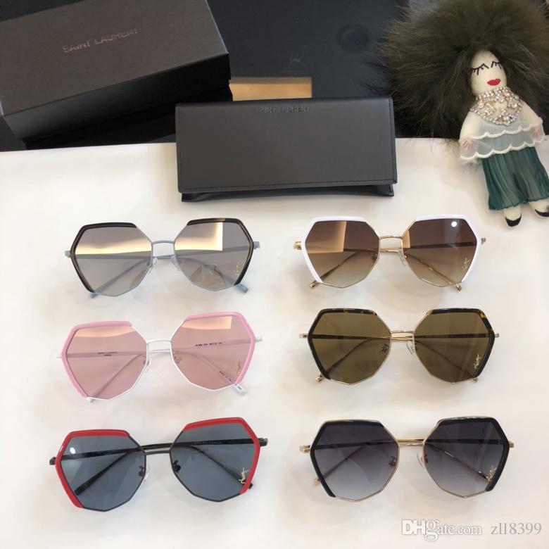 b16d3f9486a Unique Half Rimless Women Sunglasses Fashion Lens Cat Eye Men Clear ...