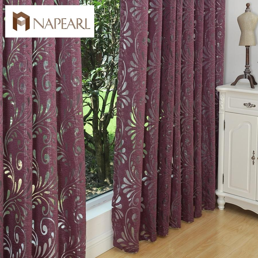 Delicieux 2018 Ready Made Semi Blackout Curtains Blind Panel Fabrics For Window Purple  Curtain Living Room Window Treatment Purple Black White From China_smoke,  ...