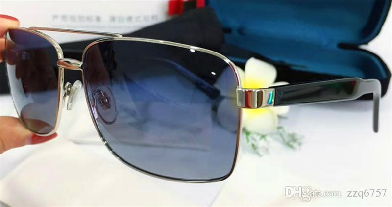 1c58809fdcb New Fashion Designer Sunglasses 2284 Metal Square Frame Classic Simple Hot  Selling Style Uv 400 Polarized Driving Eyewear For Men Sports Sunglasses  Cheap ...