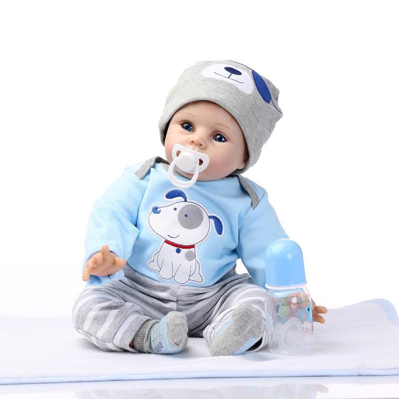 Wholesale Hot Sale Silicone S Wholesale Lifelike Baby Boys Newborn