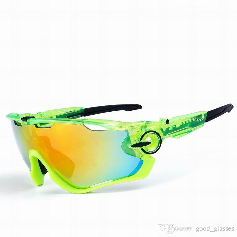 Compre Moda Óculos De Corrida Designer De Marca Óculos De Sol Dos Esportes  Polarizados Mountain Bike Goggles Intercambiáveis 3 Lens Ciclismo Eyewear  De ... 87d754c6b6