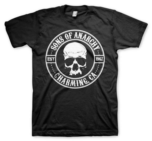 72c744a5 Official Licensed Sons Of Anarchy Seal Charming Men'S T Shirt S 3XL Sizes,  Black Tee Shirts For Sale Random T Shirts From Capoclothing42, $11.58|  DHgate.Com