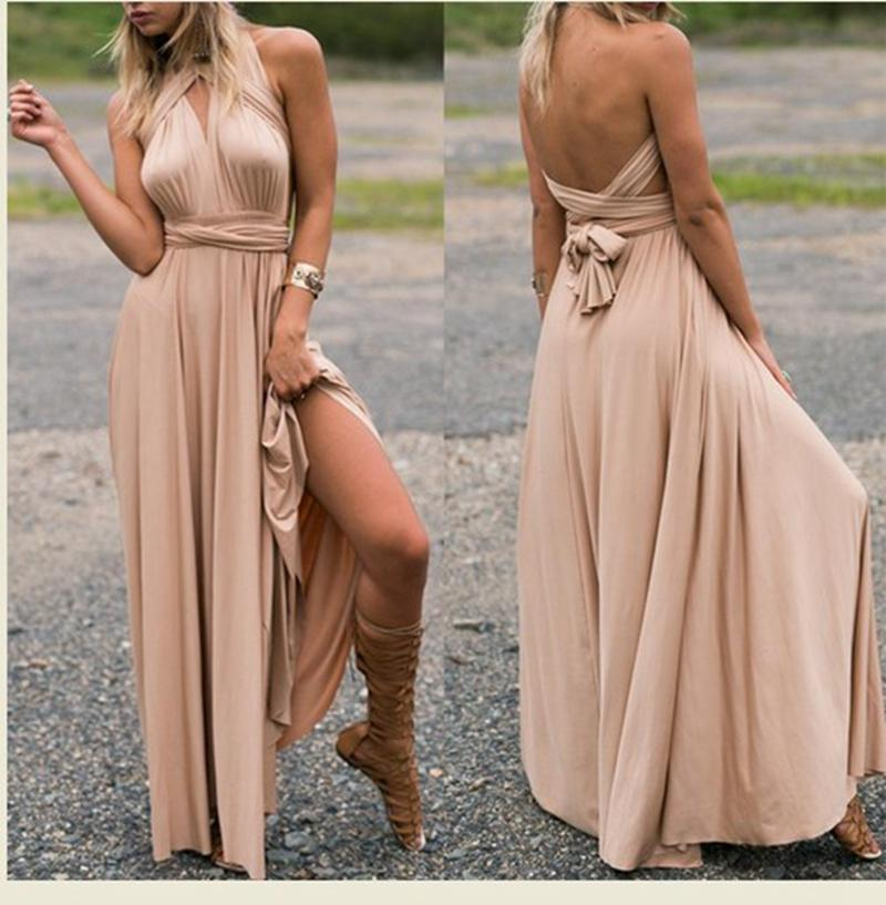 1247df6cfb 2019 Maternity Dresses Summer Long Maxi Convertible Wrap Gown Dress Bandage  Bridesmaid For Pregnant Women Clothes Pregnancy Clothing From Sport xgj