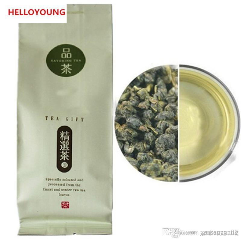 Vendite calde 100g organico cinese Tè Oolong Taiwan High Mountains in vetrina il tè verde per il latte Oolong Tè verde Salute New Spring
