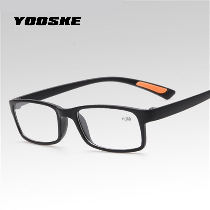 3587e5e963e 2019 YOOSKE Reading Glasses Anti Drop Men S Women S Reading Glasses TR90  High Definition Toughness Resin Material For Reading From Aomi2016