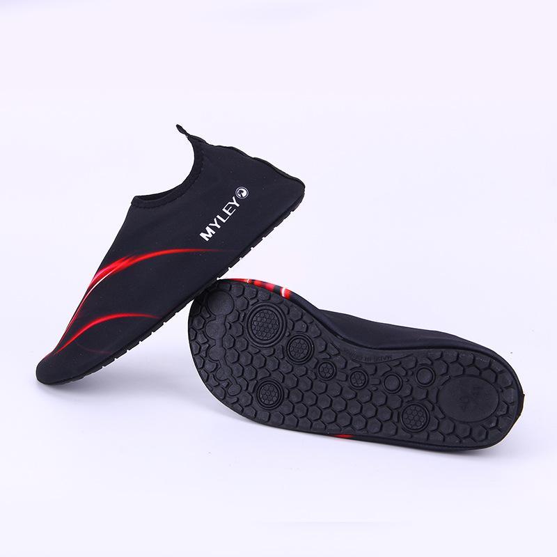 MYLEON chaussures de piscine d'été pour hommes en plein air et de plage chaussures de plage adultes unisexes plates chaussures de yoga pour amoureux de la marche