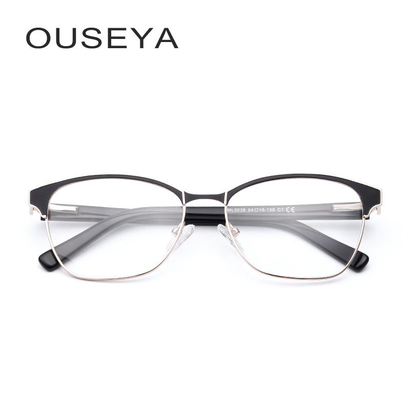 877b48794c2 2019 Metal Men Optical Glasses Frame Business Vintage Clear Lens Grade  Transparent No Degree For Male Eyeglasses  ML0038 From Lbdwatches