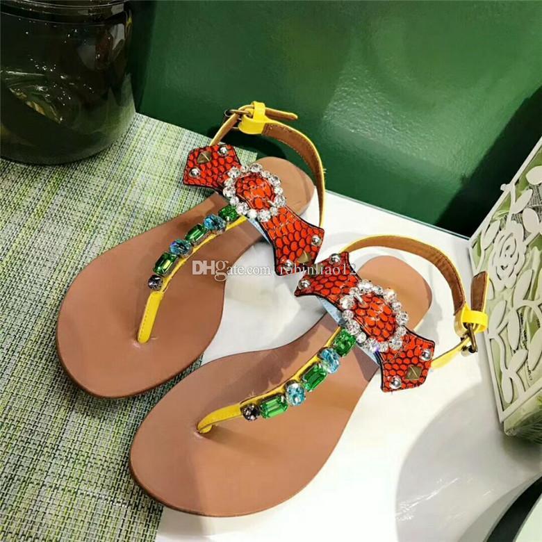 e80bce5bd44 Acheter Populaire Femmes D été Sandales Plates Assurance Qualité Pure À La  Main Décontractée Plage Chaussures En Cuir Véritable Size34 41 Gros De   99.44 Du ...