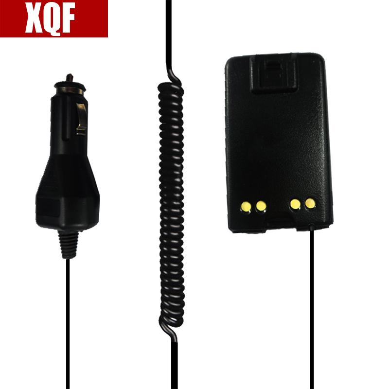 XQF New Black Radio Battery Eliminator Adapter 12V for Walkie Talkie for MOTOROLA Mag One BPR40 A8 Ham Radio