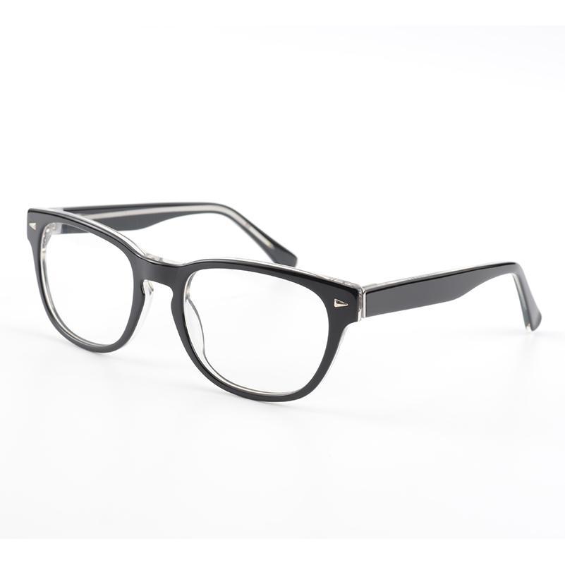 Großhandel Mode Acetat Männer Brillengestell 100% Handarbeit Männer ...