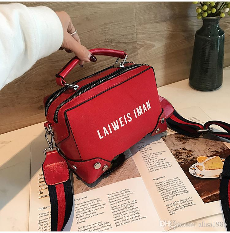 b774f0fed41d 2018 Fashion Ladies Shoulder Letters Tote Bags Casual Women S Cross Body Purse  Messenger Bags Xiangdangdang 8 Cheap Handbags Handbags For Women From ...