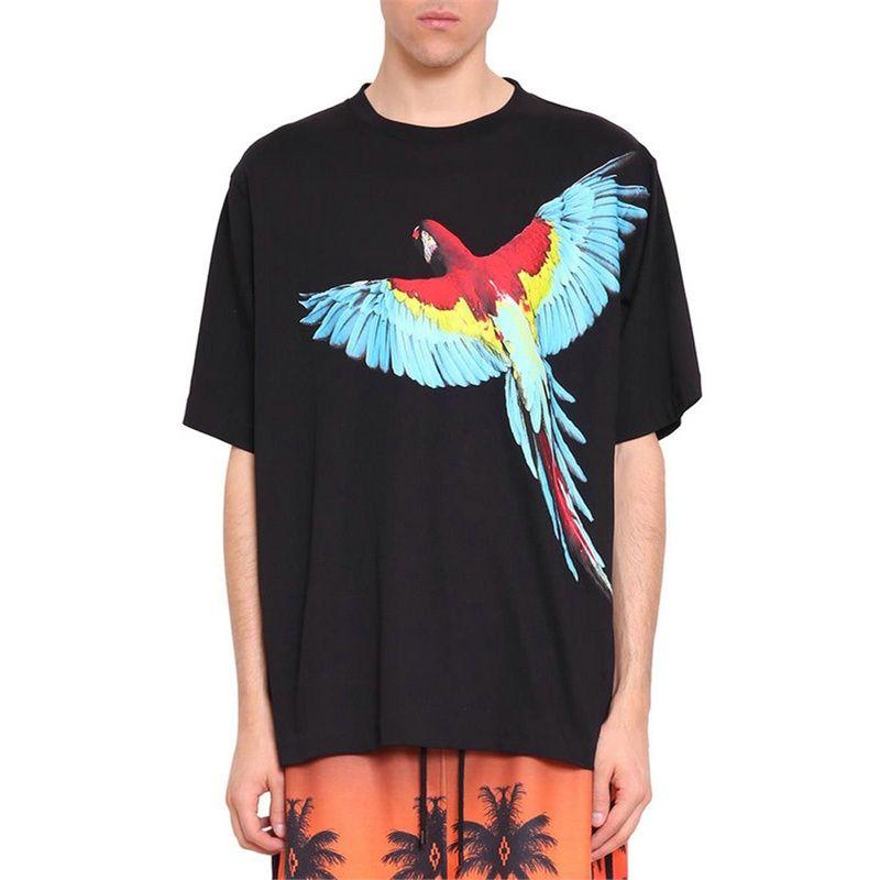 4c15c6ea418c New Arrive Summer Marcelo Burlon T Shirt Men 3D Printed Parrot T Shirt  Animal Streetwear T Shirt Clothing Camisetas Hombre Buy T Shirts Online T  Shirt From ...