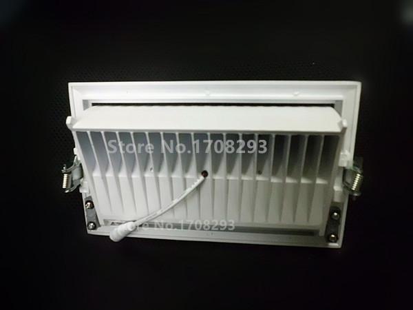회전 사각형 COB LED 다운 라이트 30W 최근 홍수 다이 캐스트 알루미늄 화이트 교체 R7S 100W150W 할로겐 램프 110V-240V