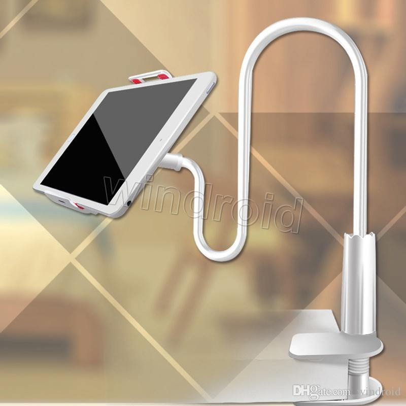 Flexible Desktop Phone Tablet Stand Holder For iPad Mini Air Samsung iphone x 8 For Lazy Bed Tablet PC Stands Mount Big Phone Free DHL