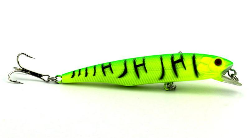 Nouvelle courbe de plongée Trolling Natation Flicker en plastique Crankbait Laser fishbait 10.5cm 15.5g Minnow wobbler Leurre de pêche