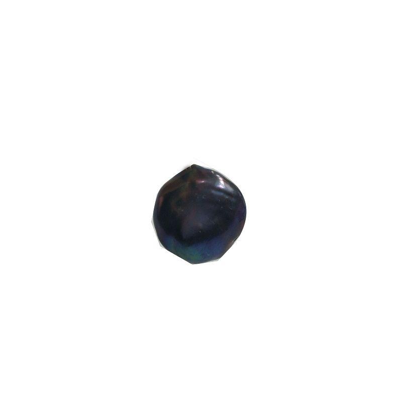Perla a forma di pavone bottoni perla perla d'acqua dolce Bracciali fai da te collane accessori di gioielli materiali perlati perla fattoria all'ingrosso 16-18mm